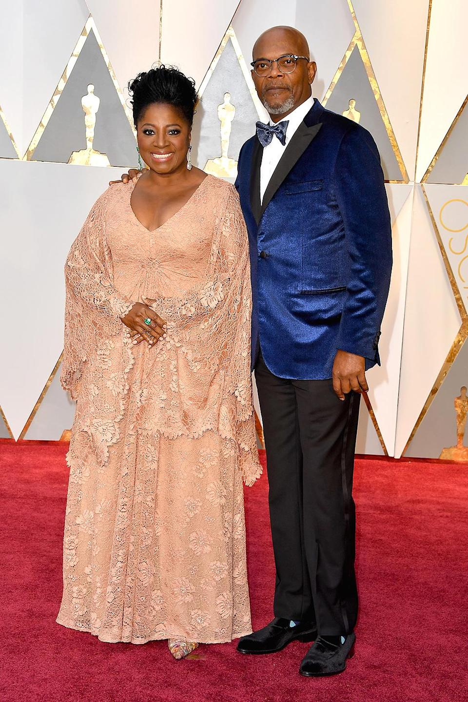 <p>Actor Samuel L. Jackson and LaTanya Richardson Jackson attend the 89th Annual Academy Awards at Hollywood & Highland Center on February 26, 2017 in Hollywood, California. (Photo by Steve Granitz/WireImage) </p>