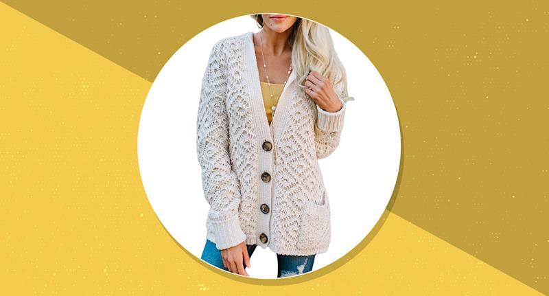 This versatile cardigan is a wardrobe power player. (Photo: Amazon)