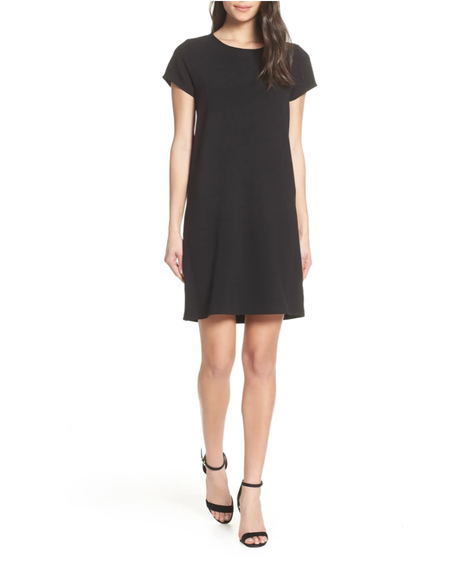 Chelsea28 Crepe Shift Dress. Image via Nordstrom.