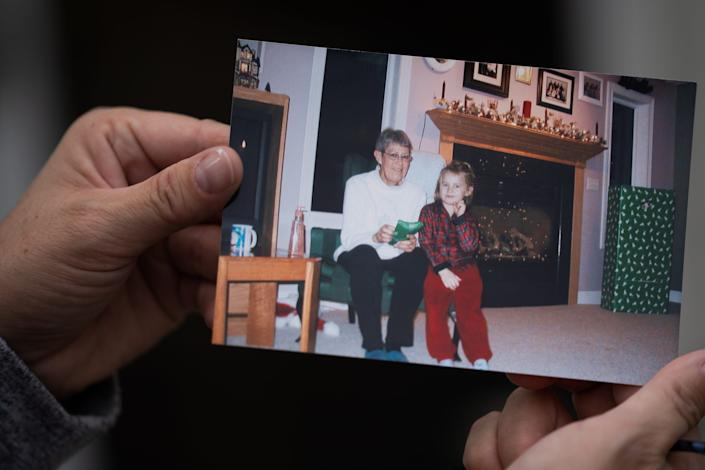 Pam Warfle's mother, Leona Smith, was able to return from the hospital before Thanksgiving.