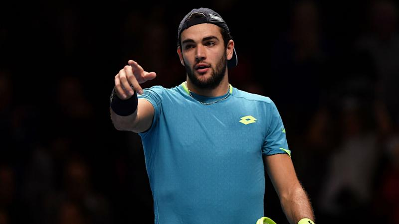 Berrettini makes ATP Finals history as he signs off with victory over Thiem
