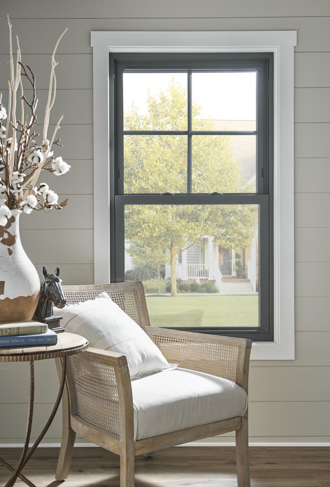 """<p>Double-hung windows """"are a classic style, and they are standard in many homes,"""" she describes. Because they can be opened from the top or bottom, they allow homeowner more control over air flow and are a breeze&mdash;excuse the pun&mdash;<a href=""""https://www.marthastewart.com/996724/tips-how-wash-windows"""">to clean</a>. Prices for double-hung windows start at about $229 each, says Anderson, and can climb to as much as $450 each, depending on design.</p>"""