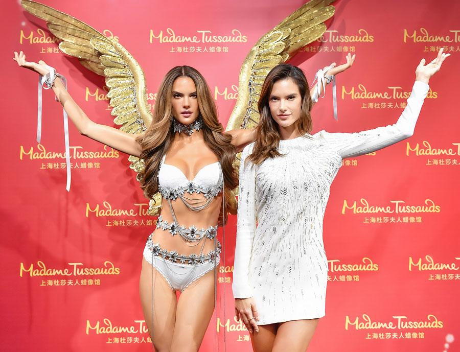 <p>The Victoria's Secret model's likeness is every bit as angelic as she is. </p>