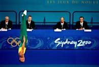 <p>Kids, don't try this at home! Ji Wallace of Australia proved just how wild the tricks in trampoline can be. </p>