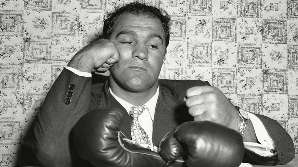 Mandatory Credit: Photo by AP/Shutterstock (6619024a)ROCKY MARCIANO Rocky Marciano is the only heavyweight champion to retire undefeatedASAP SPORTS ATHLETE PLANE CRASHES, NEW YORK, USA.