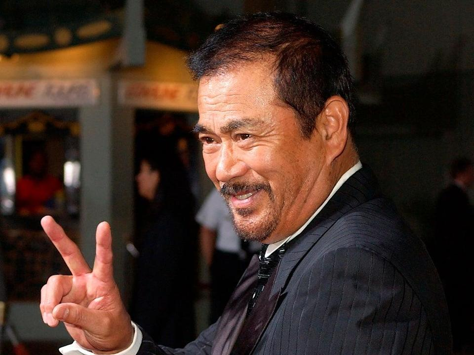 There is a prevailing tendency among Chiba's biographers to overstress the fingerprint left on his career by Quentin Tarantino (AP)