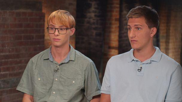 Alex McCarty and Noah Walton are seen here during an interview with ABC News' '20/20.' (ABC News)