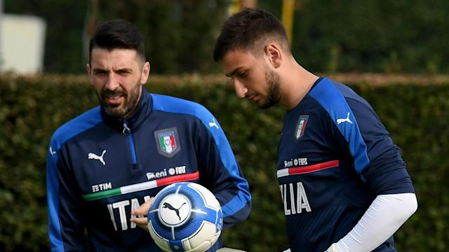 Comparisons between Gianluigi Donnarumma and Gianluigi Buffon have been rife, but the youngster is not thinking about ousting the veteran.