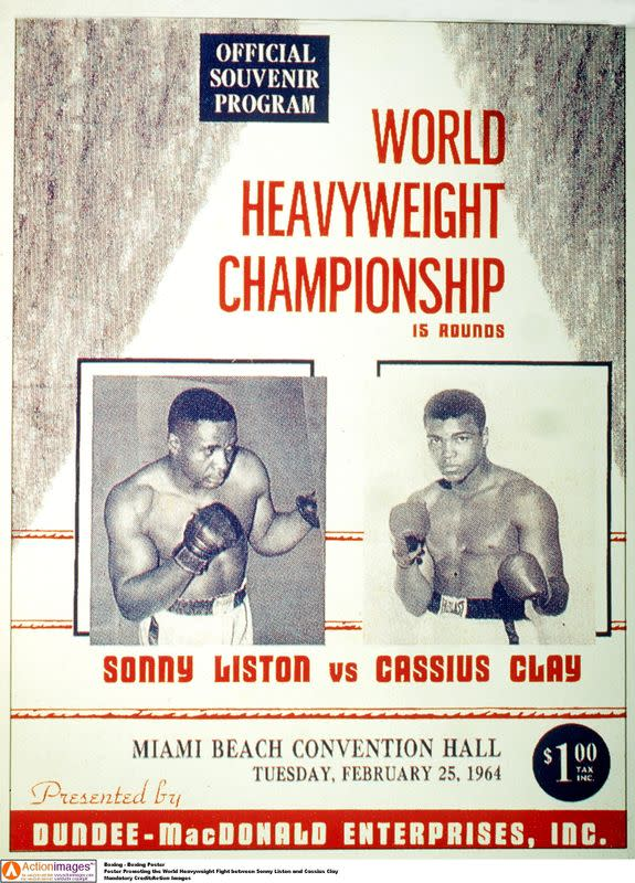 FILE PHOTO: Boxing - Boxing Poster
