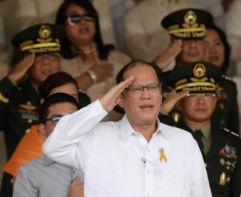 "The bloodbath, infamously known as the ""Mamasapano Massacre"", helped to turn public opinion against Benigno Aquino, pictured, who later unsuccessfully campaigned to prevent the election of Rodrigo Duterte as his successor"