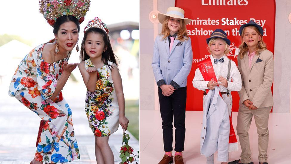<p>Cutest kids at Stakes Day</p>
