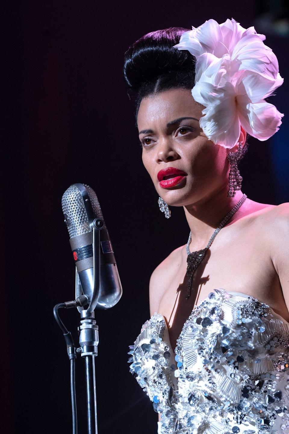 <p>The singer's portrayal of Billie Holiday in <em>The United States vs. Billie Holiday </em>earned her two Golden Globe nominations: one for best original song and another for best actress in a motion picture – drama. </p>