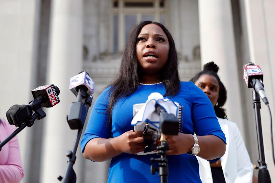 State Sen. Katrina Robinson, D-Memphis, who was charged with stealing $600,000 in federal grant money from a health care school she operated, has been acquitted on 15 of 20 charges, according to court records.