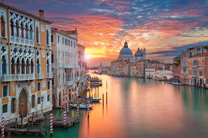 Even Venice can be cheap for Valentine's Day: Getty Images/iStockphoto