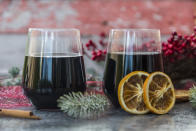 """<p>Depending on the type of red wine you use, of course. A <a href=""""http://www.feelgoodhomeopathy.com/blog/how-can-lower-high-cholesterol"""" rel=""""nofollow noopener"""" target=""""_blank"""" data-ylk=""""slk:Spanish study"""" class=""""link rapid-noclick-resp"""">Spanish study</a> revealed that Tempranillo red grapes (which are used to produce the likes of Rioja) may have a big impact on cholesterol levels. Researchers found that people consuming the grapes saw a 9% decrease in bad cholesterol levels. <i>[Photo: Getty]</i><br><br></p>"""