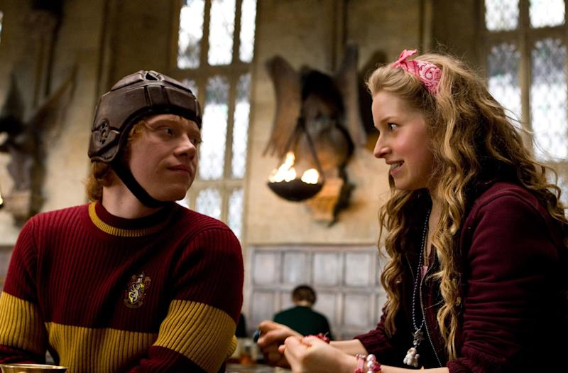 Jessie played Ron Weasley's girlfriend, Lavender Brown, in the Harry Potter films. Photo: Warner Bros.