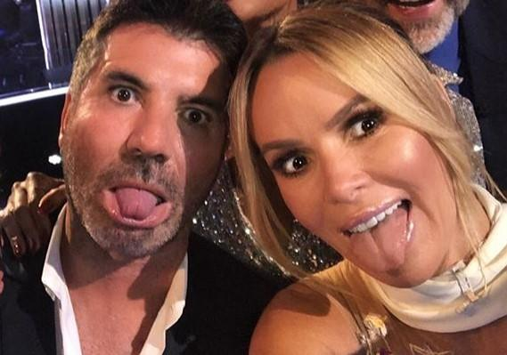 Simon Cowell says he and Amanda Holden have probably had 'a bit too much botox' over the years (Amanda Holden/Instagram)