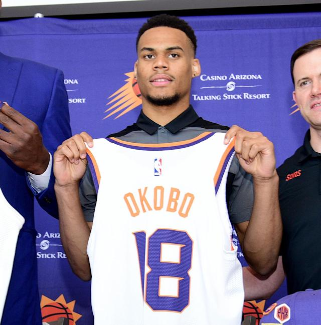 Elie Okobo's deal is guaranteed for the first two years. (Getty)