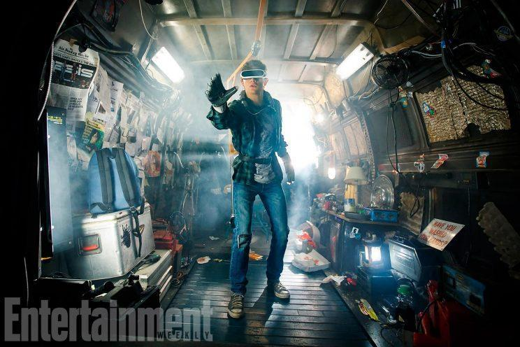 Here's our first look at Tye Sheridan in Ready Player One - Credit: Amblin