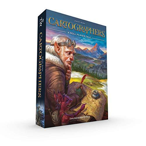 Cartographers: A Roll Player Tale, Game (Amazon / Amazon)