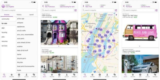 Craigslist finally get official mobile app after being founded 24 years ago
