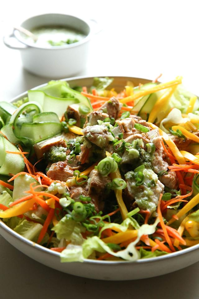 """<p>This is literally the most delicious way to have a salad for dinner.</p><p>Get the recipe from<a rel=""""nofollow"""" href=""""http://www.delish.com/cooking/recipe-ideas/recipes/a51581/asian-salad-recipe/"""">Delish</a>.</p>"""