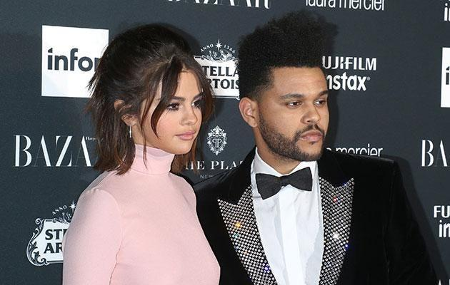 Selena and The Weeknd broke up earlier this month, with the songstress seemingly back with her former boyf Justin. Source: Getty