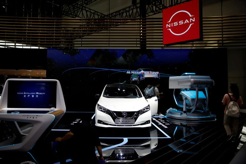 FILE PHOTO: Beijing International Automotive Exhibition, or Auto China show
