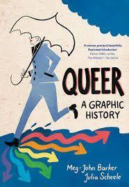 """<p>queerbooks.com</p><p><strong>$18.95</strong></p><p><a href=""""https://www.queerbooks.com/product/queer-a-graphic-history/"""" rel=""""nofollow noopener"""" target=""""_blank"""" data-ylk=""""slk:Shop Now"""" class=""""link rapid-noclick-resp"""">Shop Now</a></p><p>This cartoon-centric book tells the history of queer thought- and LGBTQ action and advocacy. It looks at the different worlds of film, academia, and pop-culture to show the people and events that have shaped queer history. </p>"""