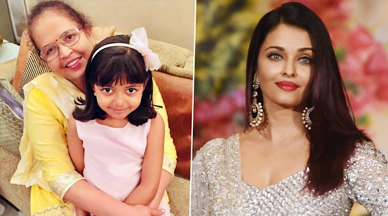 Aishwarya Rai Bachchan and Daughter Aaradhya Have a Super Sweet Birthday Wish for the Latter's 'Doddaaa' (View Post)