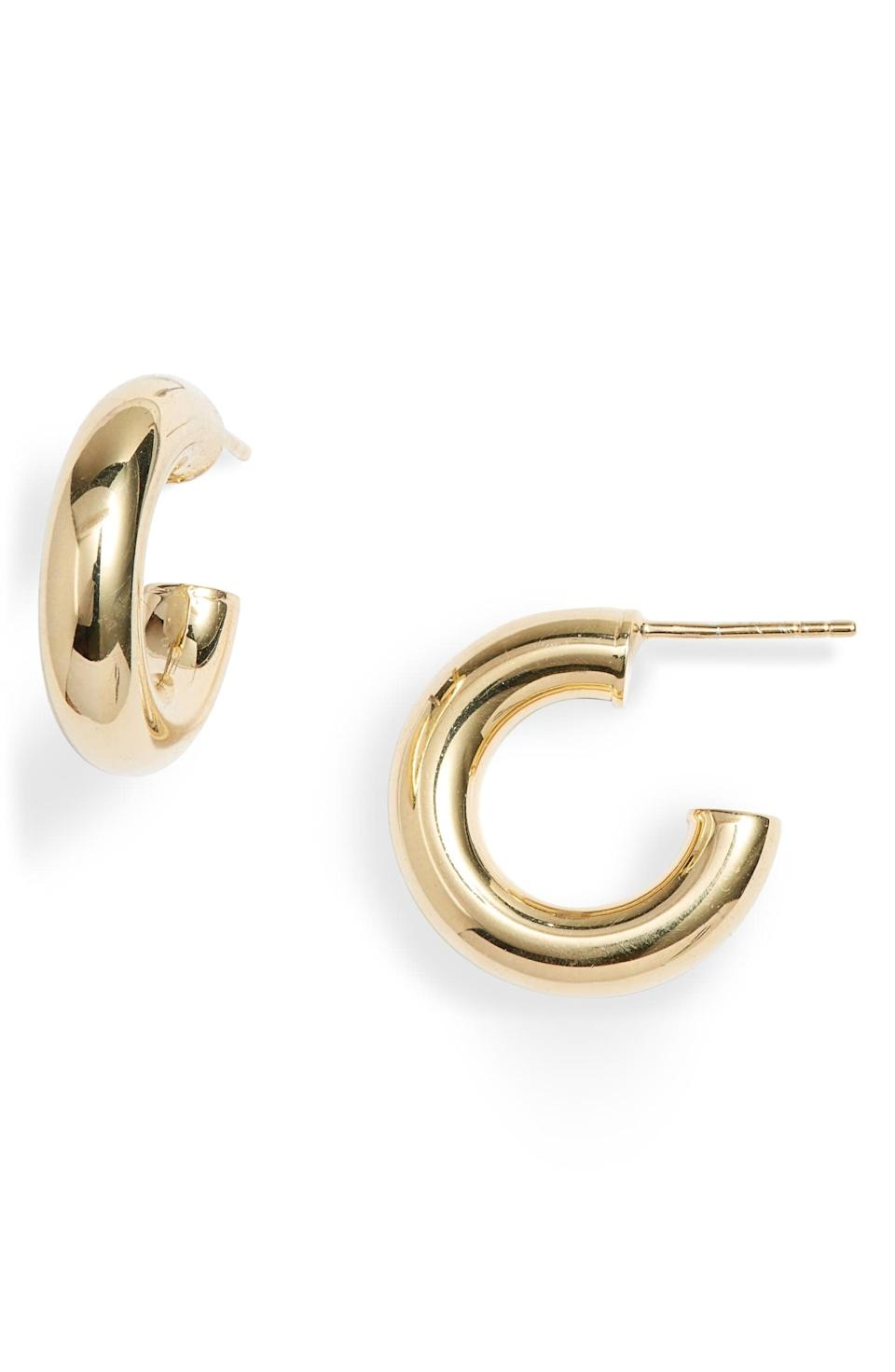 "<p>These <a href=""https://www.popsugar.com/buy/Adina-Jewels-Extra-Small-Thick-Hollow-Hoop-Earrings-510454?p_name=Adina%27s%20Jewels%20Extra%20Small%20Thick%20Hollow%20Hoop%20Earrings&retailer=shop.nordstrom.com&pid=510454&price=58&evar1=fab%3Aus&evar9=36291197&evar98=https%3A%2F%2Fwww.popsugar.com%2Ffashion%2Fphoto-gallery%2F36291197%2Fimage%2F46982998%2FAdina-Jewels-Extra-Small-Thick-Hollow-Hoop-Earrings&list1=shopping%2Choliday%2Cwinter%2Cgift%20guide%2Cwinter%20fashion%2Choliday%20fashion%2Cfashion%20gifts&prop13=api&pdata=1"" rel=""nofollow noopener"" class=""link rapid-noclick-resp"" target=""_blank"" data-ylk=""slk:Adina's Jewels Extra Small Thick Hollow Hoop Earrings"">Adina's Jewels Extra Small Thick Hollow Hoop Earrings</a> ($58) are the perfect stocking stuffer.</p>"