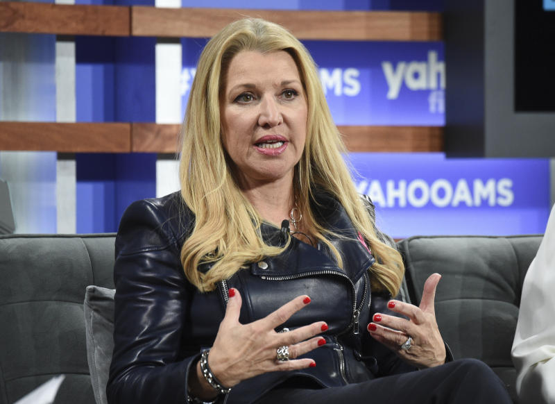 WW International CEO Mindy Grossman participates in the Yahoo Finance All Markets Summit at Union West on Thursday, Oct. 10, 2019, in New York. (Photo by Evan Agostini/Invision/AP)