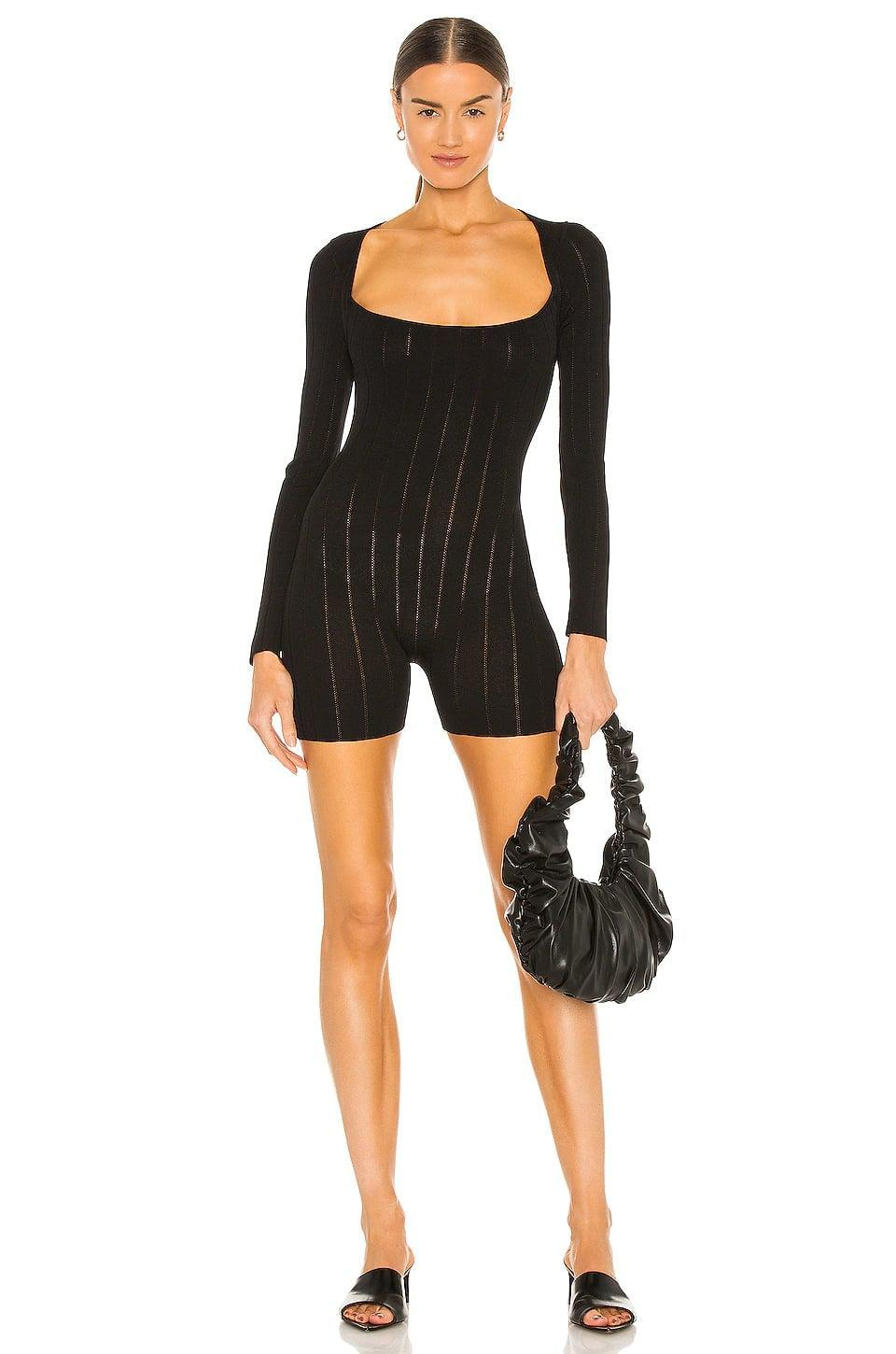 <p>Aya Muse makes great knit rompers, and this <span>Aya Muse Fiona Romper</span> ($280) is the ultimate fall version. It's a little bit sheer and a little bit sexy, definitely suitable for a night out.</p>
