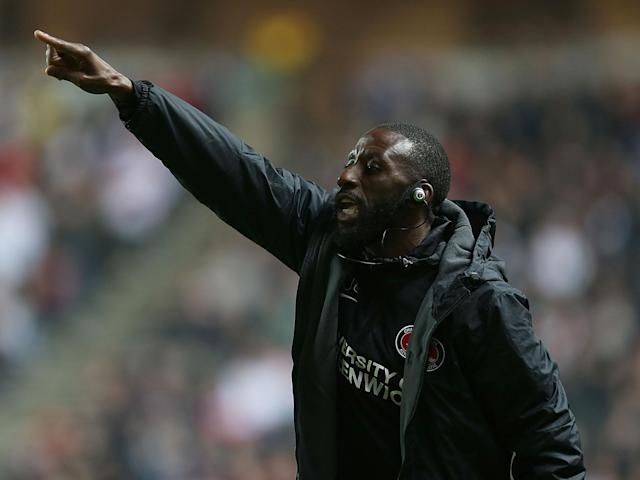 Jason Euell is one of a number of black coaches to be working in the game, but few are in management: Getty