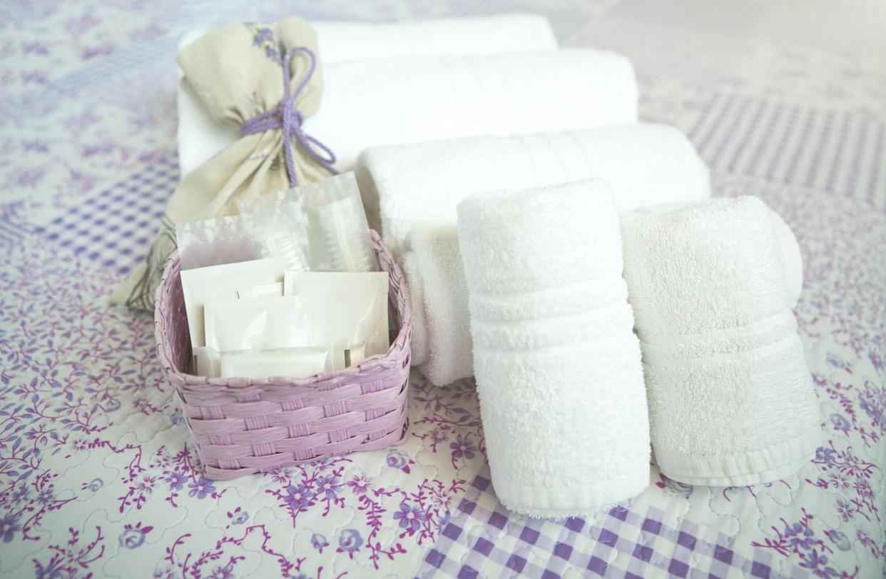 Consider leaving an essentials kit for your guests. (Getty Images)