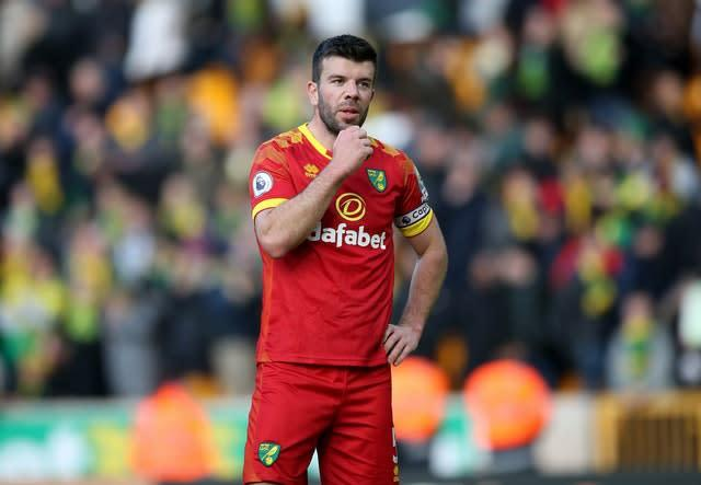 Grant Hanley is the latest Premier League player to express misgivings about a potential restart (Nick Potts/PA)