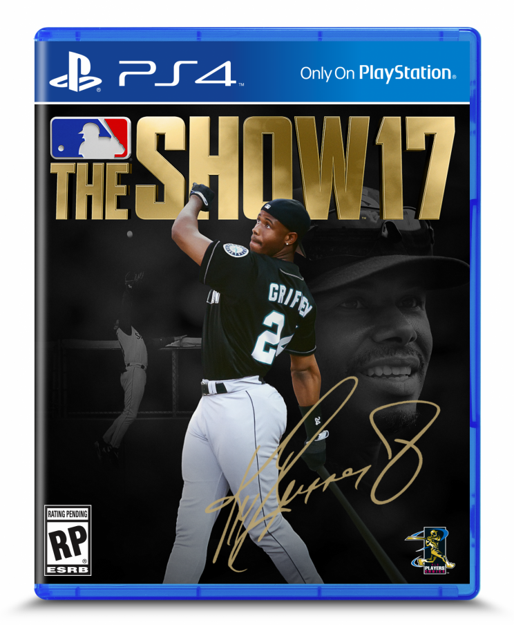 Ken Griffey Jr. is the cover athlete for MLB The Show 17.
