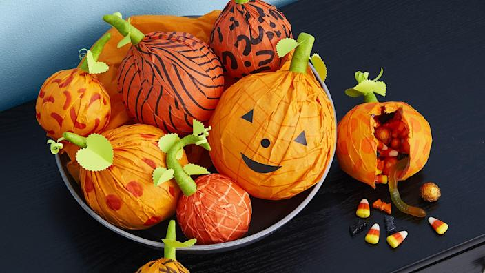 """<p>While trick-or-treating, <a href=""""https://www.womansday.com/home/crafts-projects/g950/funny-pumpkin-carving-ideas/"""" rel=""""nofollow noopener"""" target=""""_blank"""" data-ylk=""""slk:pumpkin carving"""" class=""""link rapid-noclick-resp"""">pumpkin carving</a>, and a <a href=""""https://www.womansday.com/relationships/family-friends/g28120916/scary-movies-for-kids/"""" rel=""""nofollow noopener"""" target=""""_blank"""" data-ylk=""""slk:scary movie"""" class=""""link rapid-noclick-resp"""">scary movie</a> marathon are some of the more common ways to celebrate the spookiest day of the year, turns out there are a slew of ways to ring in Halloween. Whether you're looking to make some <a href=""""https://www.womansday.com/home/decorating/g1279/easy-halloween-decorations/"""" rel=""""nofollow noopener"""" target=""""_blank"""" data-ylk=""""slk:DIY Halloween decorations"""" class=""""link rapid-noclick-resp"""">DIY Halloween decorations</a> to help spook up your home, or you're looking for some out-of-the-box Halloween activities to keep your little ghouls and goblins occupied, it's time to create some spooktacular Halloween crafts that will take your holiday game to the next level. And while there are plenty of great <a href=""""https://www.womansday.com/home/crafts-projects/g2490/halloween-kids-crafts/"""" rel=""""nofollow noopener"""" target=""""_blank"""" data-ylk=""""slk:kid Halloween crafts"""" class=""""link rapid-noclick-resp"""">kid Halloween crafts</a> out there, you'll find just as many Halloween crafts for adults... so get your scissors and glue ready. </p><p>From creepy stuffed dolls to clever candy holders to <a href=""""https://www.womansday.com/home/crafts-projects/g950/funny-pumpkin-carving-ideas/"""" rel=""""nofollow noopener"""" target=""""_blank"""" data-ylk=""""slk:pumpkin carving projects"""" class=""""link rapid-noclick-resp"""">pumpkin carving projects</a>, there is no end to the ways you can make your own haunting decor and accessories before October 31. Before your guests arrive for your <a href=""""https://www.womansday.com/life/g1908/cheap-and-easy-ways-to-celebrate-halloween/"""" rel="""""""