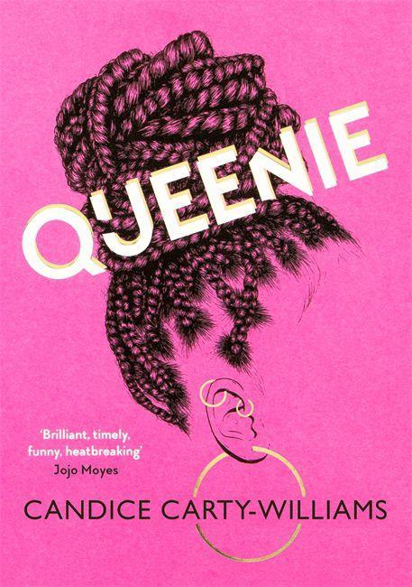 "<p><em>Queenie </em>is about a 25-year-old Jamaican British woman in London who, at the start of the book, is breaking up with her boyfriend and having to vacate their flat and move into a houseshare. She works at a newspaper amidst white middle-class colleagues, starts dating questionable men – to the dismay of her group of friends –, feels like she doesn't fit in between two cultures, and isn't getting on with her mum. Grab the popcorn, so to speak. </p><p><em>Out in April</em></p><p><em><a href=""https://www.amazon.co.uk/Queenie-Candice-Carty-Williams/dp/1409180050/ref=sr_1_1?s=books&ie=UTF8&qid=1545242129&sr=1-1&keywords=queenie+candice+carty-williams"" rel=""nofollow noopener"" target=""_blank"" data-ylk=""slk:PRE-ORDER"" class=""link rapid-noclick-resp"">PRE-ORDER</a><br></em></p>"