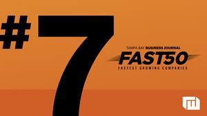 Roger West Jumps to 7th on Tampa Bay Business Journal Fast 50 List