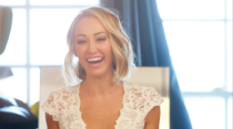 "<p>As a luxury real estate agent, there's no time to sleep on a sale–even if it's your wedding day. Case in point: Mary Fitzgerald <a href=""https://www.radiotimes.com/news/on-demand/2020-08-21/selling-sunset-cast/"" rel=""nofollow noopener"" target=""_blank"" data-ylk=""slk:sold a mansion"" class=""link rapid-noclick-resp"">sold a mansion</a> while getting her hair and makeup done for her wedding. If that's not commitment, I don't know what is.</p>"