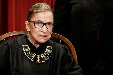 Ahead of Kavanaugh Hearing, Ginsburg Praises 'Women Coming Together'