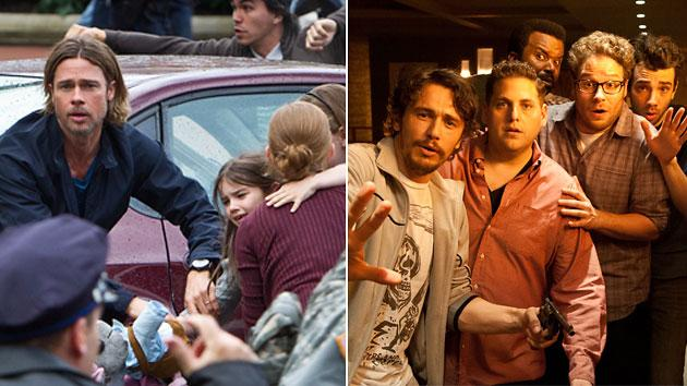 'World War Z,' 'This Is the End'