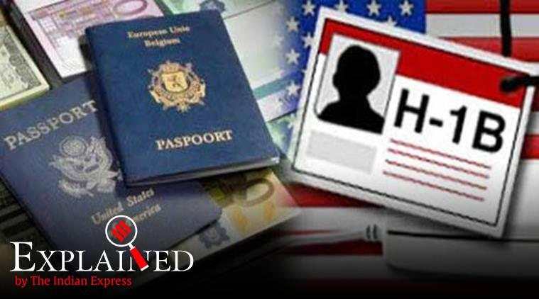 H1B visa, us h1 b visa, us visa cap, us visa policy, trump visa policy, Wall Street Journal, indian express explained
