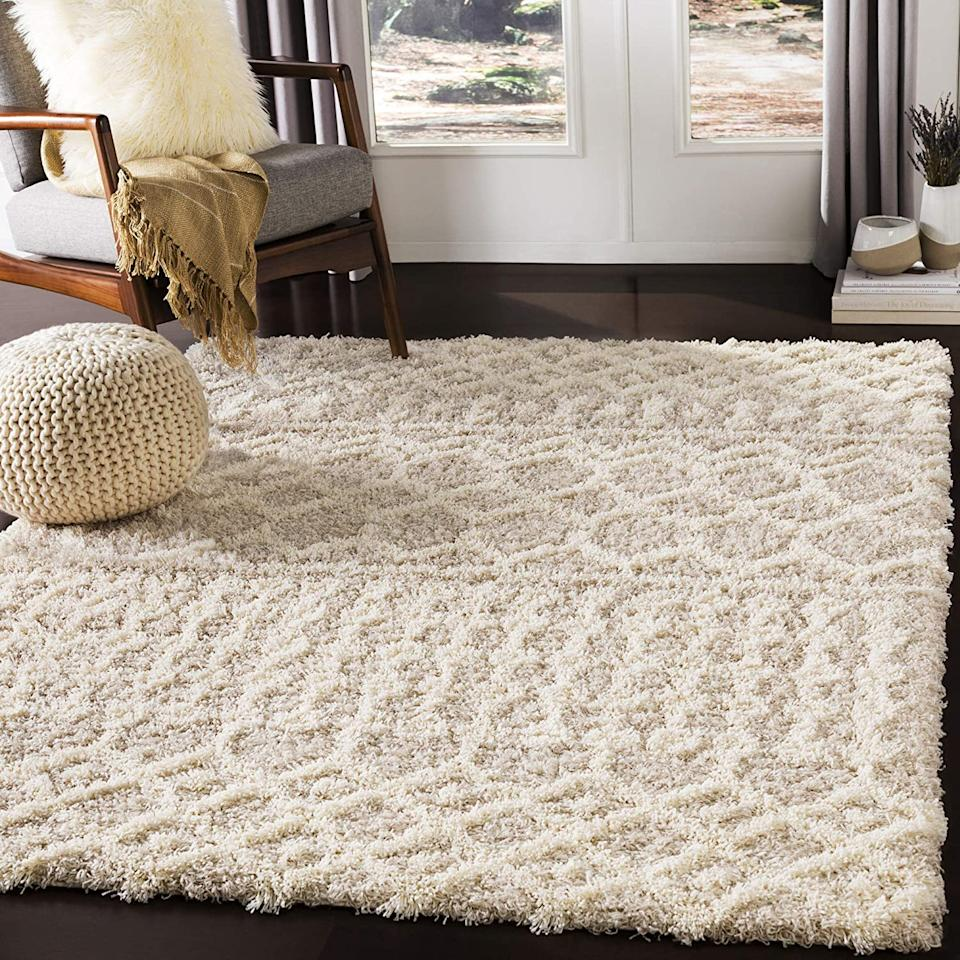 """<h2><a href=""""https://www.amazon.com/dp/B07Q13HHK7?"""" rel=""""nofollow noopener"""" target=""""_blank"""" data-ylk=""""slk:Artistic Weavers Bohemian Area Rug"""" class=""""link rapid-noclick-resp"""">Artistic Weavers Bohemian Area Rug</a></h2>Featuring plush, neutral-colored woven fabric from Turkey and a super-soft feel. <br>The perfect choice for a range of settings. <br><br><strong>Artistic Weavers Store</strong> Artistic Weavers Bohemian Area Rug, $, available at <a href=""""https://www.amazon.com/dp/B07Q13HHK7?"""" rel=""""nofollow noopener"""" target=""""_blank"""" data-ylk=""""slk:Amazon"""" class=""""link rapid-noclick-resp"""">Amazon</a>"""