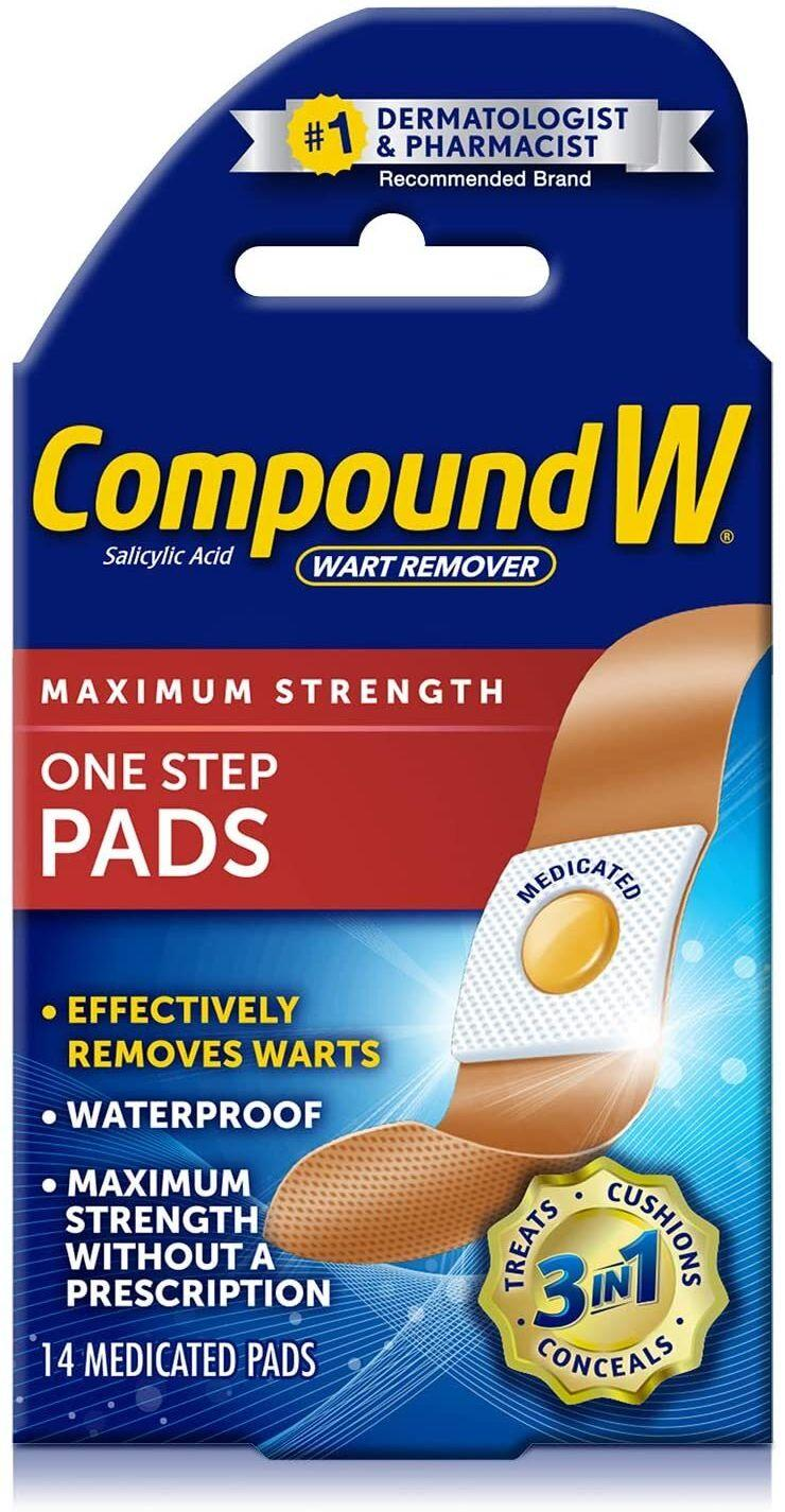 "You simply apply these like bandages so you can be rid of your extra growth. Be gone, appendage!<br /><br /><strong>Promising review:</strong> ""This stuff works! I've never had a wart in my life! At first I thought it was a small callus but as months went by it was getting larger. I started to google and realized I had a plantar wart on my thumb! Eww, embarrassing! So I got the freeze off and thought 'This has to work!' Nope! I tried the freeze off three times and nothing! I than realized the same thing was happening on my other thumb, a small callus but I knew that the wart had spread! Now I was desperate to get rid of them and knew I had waited too long! <strong>Bought the invisible strips and it removed my small wart in four days and my big wart in eight!!</strong> I couldn't believe it. I left strips on for two days then pulled back the dead skin with a cuticle clipper and reapplied! My bigger wart was a little tougher to removed and I had irritated my skin trying to cut it out, so I left it alone for few days before reapplying strip and by the second 48-hour treatment, it was gone! I thought my skin would be damaged but it looks like nothing was ever there!"" — <a href=""https://amzn.to/3tNgkGY"" target=""_blank"" rel=""noopener noreferrer"">Audrey N.</a><br /><br /><strong>Get 14 pads from Amazon for <a href=""https://amzn.to/3tNgkGY"" target=""_blank"" rel=""noopener noreferrer"">$6.96</a>.</strong>"