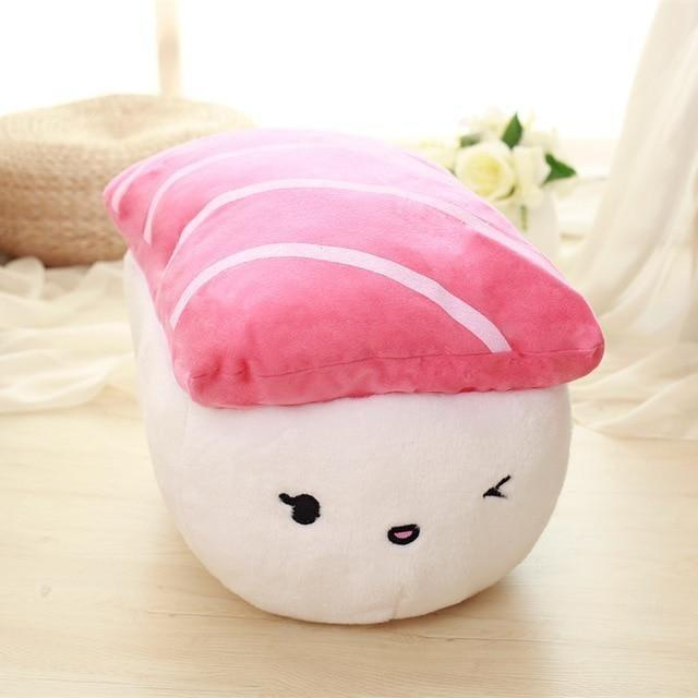 <p>This <span>Sushi Rice Stuffed Throw Pillow</span> ($35) is soft and cozy.</p>