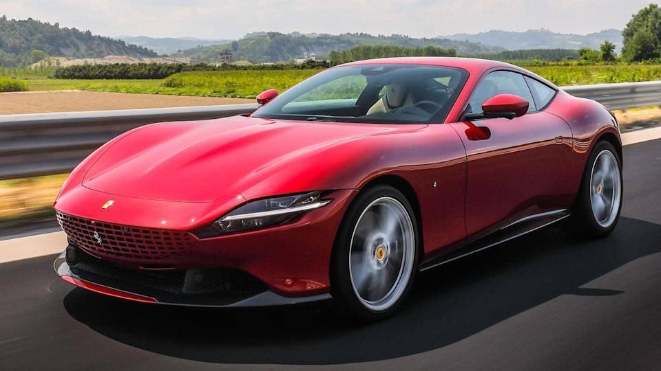 Ferrari Roma launched in India at Rs. 3.76 crore