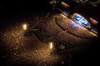 """<p>This busy eight day festival in Denmark hosts 130,000 people - that's A LOT of people. Also did we mention that there's a naked run? Oh yep, there's a naked run. <i><a href=""""http://www.thiseurope.com"""" rel=""""nofollow noopener"""" target=""""_blank"""" data-ylk=""""slk:[Photo: This Europe]"""" class=""""link rapid-noclick-resp"""">[Photo: This Europe] </a></i></p>"""