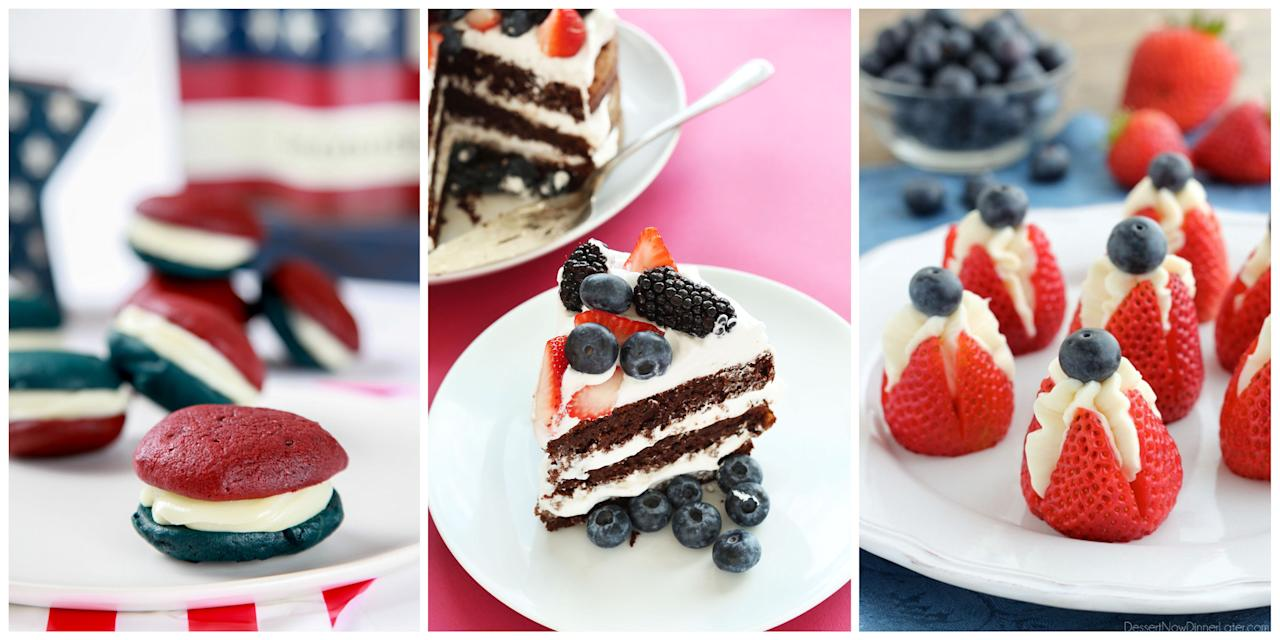 <p>It's never too early to start daydreaming about all the festive red, white, and blue desserts in your near future. </p>